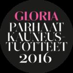 Gloria lehden palkitsemat 2016 vuoden parhaat kauneustuotteet, r-Retionate